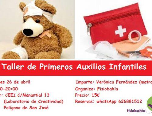 Taller de Primeros Auxilios Infantiles