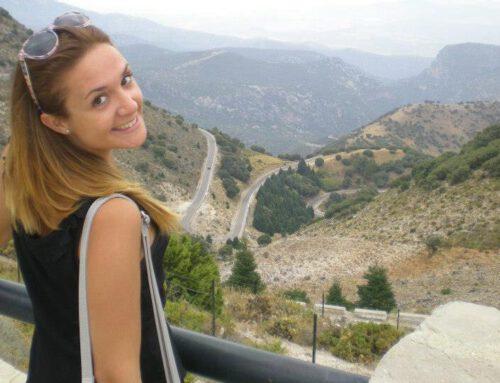 Cristina, de las Ciencias Sociales a la Fisioterapia.
